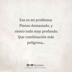 Mi problema es...