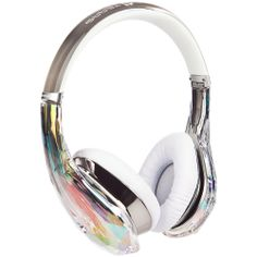 Fone de Ouvido Diamond Tears Edge On-Ear Headphones - Crystal - Monster