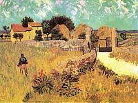Vincent van Gogh. Farmhouse in Provence, 1888