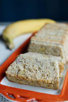 Cake bananes/flocons d'avoine/amandes | Recettes allégées WW| Audecuisine