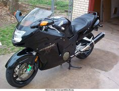 Honda CBR 1100 XX Super Blackbird (1997). This version is the pre-FI (fuel injection) model, which is arguably easier to service...