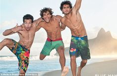 Transsexual model Lea T poses on Ipanema Beach in new Blue Man swimwear campaign | Mail Online