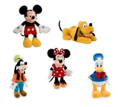 Mickey Mouse and Friends Disney Plush Toys