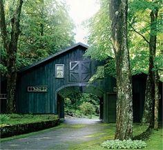 drive thru barns   Drive through Barn Entrance