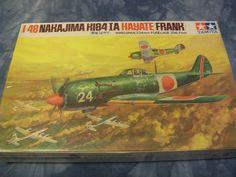 1960's Tamiya 1/48 Scale Nakajima K184-IA Hayate (Frank) Model by MyHillbillyWays on Etsy