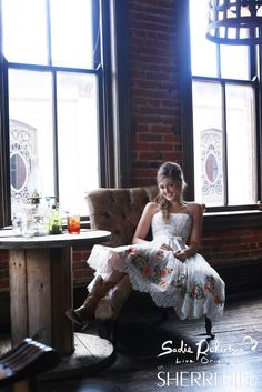 This Sadie Robertson Live Original by Sherri Hill would make the perfect country wedding dress. Cute and girly but still simple and very down to earth looking!