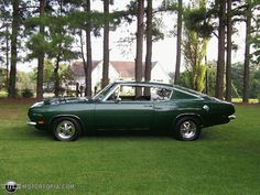 My uncle had one of these. I thought it was ugly at the time. lol 1969 Plymouth Barracuda