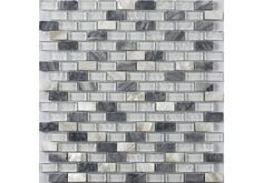 The New England Range of Mosaic Tiles are Handmade and available in a carefully chosen range of sophisticated colours inspired by the New England landscape. Each mosaic has a beautiful blend of different materials from soft smooth Marble to modern and striking chrome. Suitable for use in the Bathroom and Kitchen areas of your home.