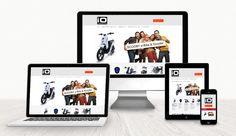 Webdesign iO Scooter WebdesignLand Web Design, Bike, Weaving, Bicycle, Design Web, Bicycles, Website Designs, Site Design