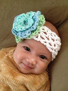 genius stretchy crochet headband