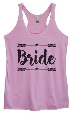 Womens Tri-Blend Tank Top - Bride