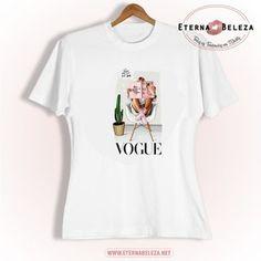 Eterna Beleza Vogue, T Shirts For Women, Quito, Mens Tops, Fashion, Beleza, Custom T Shirts, Blouses, Style