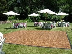 Snap together flooring for basketball courts pinterest portable dance floor for outdoor wedding solutioingenieria Images