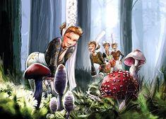 Bigoud'up au champignons