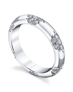 Michael B. crown lace band in platinum I Style: LACE Collection I https://www.theknot.com/fashion/the-crown-lace-band-michael-b-wedding-ring?utm_source=pinterest.com&utm_medium=social&utm_content=june2016&utm_campaign=beauty-fashion&utm_simplereach=?sr_share=pinterest