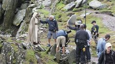 STAR WARS Red Five: New Behind-the-scenes Image of Luke Skywalker from...