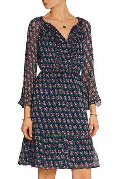 Diane von Furstenberg   Simonia printed silk-chiffon dress   NET-A-PORTER.COM