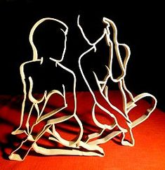 Corps de Déesses : Chantournage Scroll Pattern, Scroll Saw Patterns, Metal Art, Wood Art, Wooden Cutouts, Human Drawing, Intarsia Woodworking, Black Women Art, Sculpture Clay