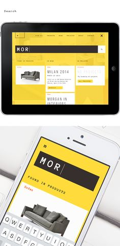 Monospace identity & website by Andrey Belikov, via Behance