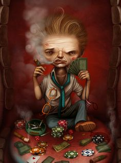 Comercial and personal works by Anton Semenov, via Behance