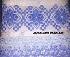 Alessandra Estrela: Outros trabalhos que fiz em ponto reto com minha p...