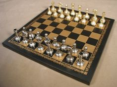 Board games are good for brains, thus good for you! Great classic board game gifts. Get 10% off orders of $99+, use code CUSTOMER REWARD at checkout. The Game Supply - Small Staunton Chessmen With Leather Board, $121.95 (http://www.thegamesupply.com/small-staunton-chessmen-with-leather-board/) #stauntonchesssets #metalchesssets