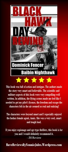 5-star review  of BLACK HAWK DAY REWIND by BAIBIN NIGHTHAWK!! @NightHawkFencer #RRBC check it out today at http://www.amazon.com/dp/B00H5CEB6A/.
