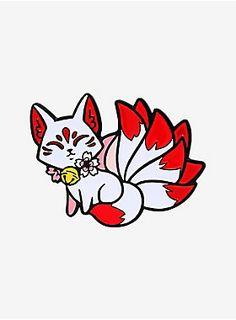 Japanese Drawings, Japanese Tattoo Art, Cute Animal Drawings Kawaii, Kawaii Art, Amazing Drawings, Art Drawings, Japan Tattoo Design, Fuchs Tattoo, Kawaii Tattoo