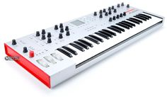 Alesis Ion The Ion Analog Modeling Synthesizer is one fat-sounding digital synth! Using Alesis' proprietary DSP Analog Modeling technology with a 500 MIPS processor (500 million instructions per second), every knob and button is tweakable in real-time giving you the feel and sound of a true analog oldie.