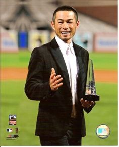 Ichiro Suzuki It is because of you that I am now a Yankee fan. American League Baseball Teams, Baseball Players, Ichiro Suzuki, Yankees Fan, New York Yankees, Japanese Baseball Player, Mlb Spring Training, Vader Star Wars, Seattle Times