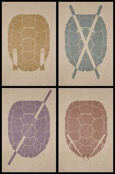 Michaelangelo, Leonardo, Donatello & Raphael   Teenage Mutant Ninja Turtles #tmnt