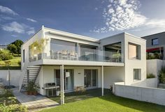 Nice One Modern Houses, Mansions, Nice, House Styles, Home Decor, Home, Ideas, Wood Facade, Detached House