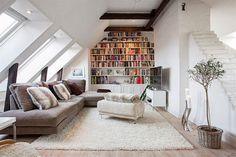 W domu Marty: Mieszkanie na poddaszu - nieco większe