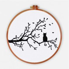 Funny & Cute - Ritacuna Cross Stitch Tattoo, Cross Stitch Quotes, Cross Stitch Letters, Cross Stitch Tree, Cross Stitch Heart, Simple Cross Stitch, Cat Cross Stitches, Funny Cross Stitch Patterns, Cross Stitch Freebies