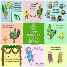 A collection of free downloadable posters for your sukkah to promote Corona awareness. Free downloadable posters. Yael Harris Resnick and Jessica Levine Kupferberg Jewish High Holidays, Simchat Torah, Yom Kippur, Educational Crafts, Rosh Hashanah, Jewish Art, Children And Family, Pin Image, Barbecue