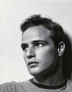 Marlon Brando Portrait by Philippe Halsman