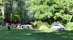 Camping in New York |  Chenango Valley State Park Chenango Forks, Central New York