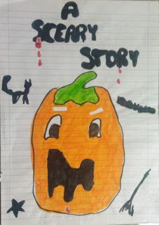 English Teacher On The Loose: WINNING SPOOKY STORIES FOR HALLOWEEN!