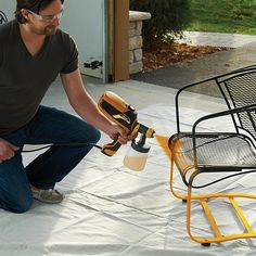 The FLEXiO 590 can spray unthinned latex or oil-based paint, stains, & urethane. faster than a brush & perfect for indoor/outdoor paint or stain projects. Wagner Paint Sprayer, Hvlp Paint Sprayer, Best Paint Sprayer, Using A Paint Sprayer, House Painting, Diy Painting, Paint Sprayer Reviews, Indoor Paint, Stained Trim