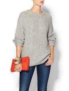 Alpaca Raglan Sweater Product Image