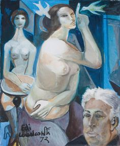 Pinturas de Di Cavalcanti!