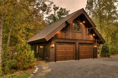 How To Choose Small Cottage House Exterior Ideas 85 - walmartbytes Garage Exterior, Carport Garage, Garage Plans, Garage Ideas, Door Ideas, Pole Barn Garage, Pole Barns, Barn Plans, Small Cottage House Plans