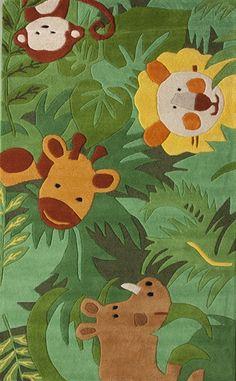 Kinderloom Animal Kingdom Rug - http://www.theboysdepot.com/kinderloom-animal-kingdom-rug.html