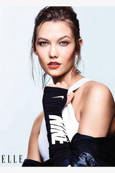 Karlie Kloss Fashion Shoot - Karlie Kloss Interview on Social Media - Elle