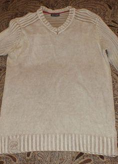 Kup mój przedmiot na #vintedpl http://www.vinted.pl/odziez-meska/swetry-w-serek/12047428-jasny-sweter-meski-wrangler-l