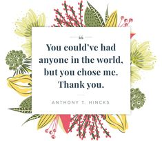 thankful quotes for him and her anthony hincks