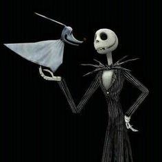 The Nightmare Before Christmas Movie) Jack Skellington and Zero Tim Burton Characters, Tim Burton Films, Disney Infinity, Halloween Season, Halloween Town, Halloween Halloween, Coraline, Jack Skellington, Jack Y Sally