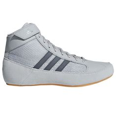 official photos 36b2f d8a0a Adidas Youth HVC2 Wrestling Shoes - Onyx (Black) 1.5