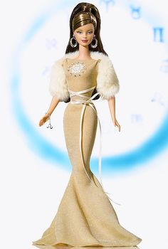 Leo Barbie Doll - Special Occasion - 2005 Zodiaz Doll Collection - Barbie Collector