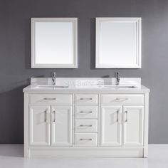 Shop Spa Bathe Spa Bath CA63 Calumet 63-in Double Vanity at Lowe's Canada. Find our selection of bathroom vanities at the lowest price guaranteed with price match + 10% off.